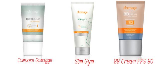 Dermage - Compose Gommage + Slim Gym + BB Cream FPS80