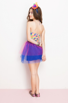 fantasia palhacinha dress to