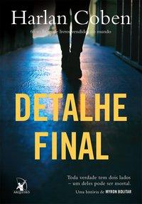 Livro Detalhe Final Harlan Coben