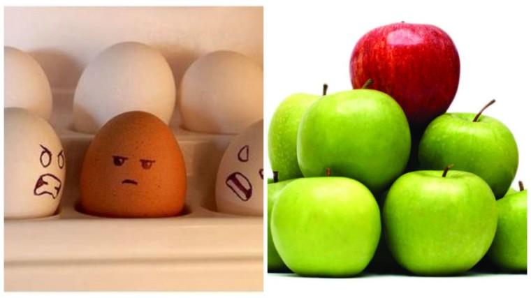 pessoas diferentes