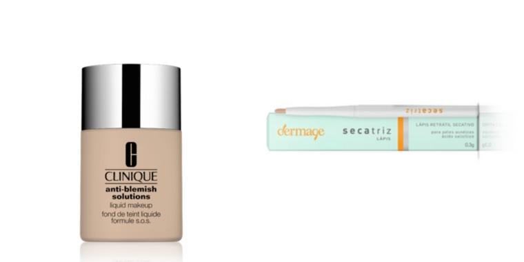 produto para pele com acne