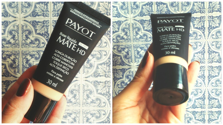 Resenha Base Líquida Mate HD Oil Free Payot 2