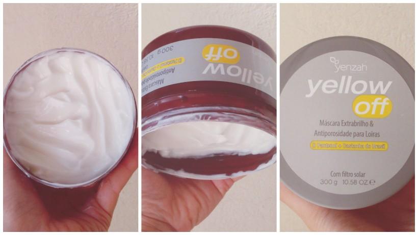Yellow Off Yenzah Resenha Mascara para cabelo loiro 1