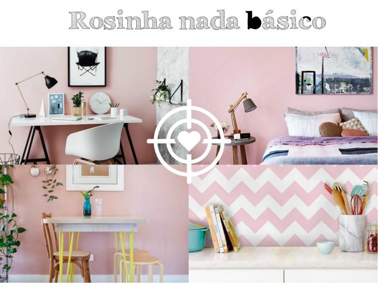 ideias rosa claro parede