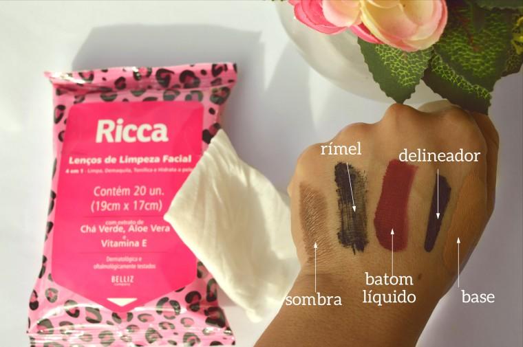 lenco-de-limpeza-facial-ricca-resenha
