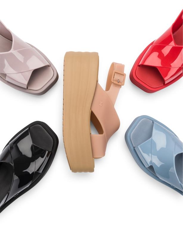 lançamento sandálias verniz zaxy